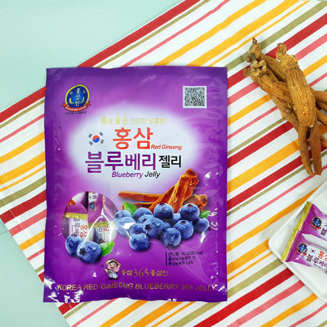 고려홍삼 블루베리제리(젤리) 150g, Korean Red Ginseng blueberry jelly 150g