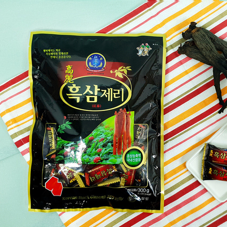 고려흑삼제리(젤리) 300g, Korean Black Ginseng jelly 300g