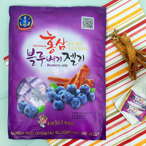 고려홍삼 블루베리제리(젤리) 700g, Korean Red Ginseng blueberry jelly 700g