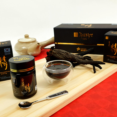 [구증구포] 고려흑삼정 농축액 100, [9 Repetitive Steaming and Drying Process] Korean Black Ginseng extract concentrate 100