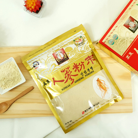 고려인삼분말 (고려백삼분말), Korean Ginseng powder (Korean White Ginseng powder)